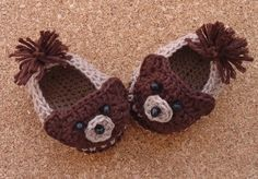 Beauty Crochet Pattern: TEDDY BEAR SHOES