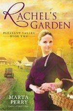 Rachel's Garden by Marta Perry. I love a good, clean love story!