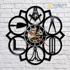 Lazy Wings Sport Car Design Vinyl Record Wall Clock Gift Idea for men or women Contemporary home wall art decoration
