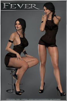 Fever - V4-V6-G2 3D Figure Essentials ilona webster