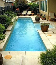 Image result for small rectangular pools