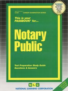 Notary Public - one