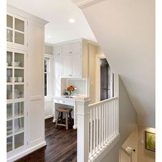 Stairs White Railing Design, Pictures, Remodel, Decor and Ideas