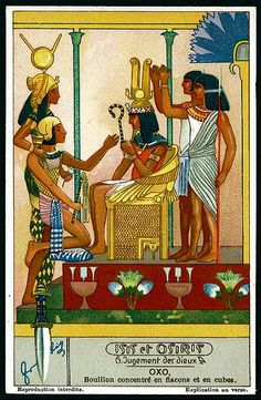 Liebig Tradecard S1280 - Isis & Osiris #6 | Flickr - Photo Sharing!