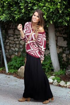 Want to wear your super cute maxi dress in fall weather, but don't know how? Well, here ya go!   Love,   Miss Clothes Over Bros