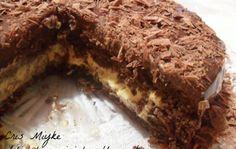 Bolo de Chocolate e Mousse de Maracujá