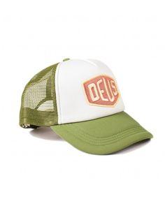 DEUS Colour Shield Trucker cap - Pine