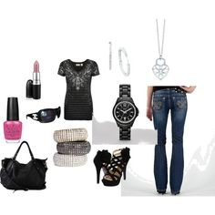 My Style, created by #tlarinto on #polyvore. #fashion #style Miss Me Mojo Moxy