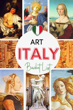 Want to know where to find the best art in Italy? This is the definitive guide to the best places, museums, and art towns to find must see art and masterpieces in Italy. This Italy guide includes famous paintings, sculpture, and frescos from ancient Rome to the Renaissance to modern art. You'll visit both Italy's art hotspots and secret hidden gems in Italy. Italian Art | Italy Aesthetic | Italy itineraries | Things To Do and See in Italy | Online Learning | Homeschooling | Renaissance Art Renaissance Paintings, Renaissance Art, Fra Angelico, Italy Art, Sistine Chapel, Caravaggio, Ancient Rome, Pilgrimage, Lovers Art