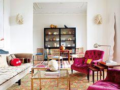 Salón con sillones y sofá