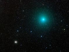 Comet 252P/LINEAR + M14 by Alan Tough