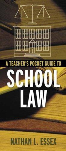 Pdf Download A Teacher S Pocket Guide To School Law Ebook Pdf Download Read Audibook In 2020 Teacher Inspiration Teacher Education Teaching Strategies