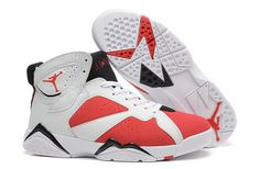 Air Jordan 7 Retro Red and Black Mens Online For Sale Cheap