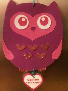 valentine owl craft free preschool crafts - 236×314