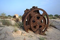 Ruines de la Fabrica de tijolo à Praia de Chaves