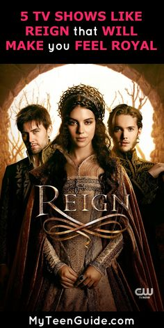 Glamor, deception, and honor! Check out these popular television shows like Reign to watch that make you feel like you're part of the royal family… and part of the secrets!