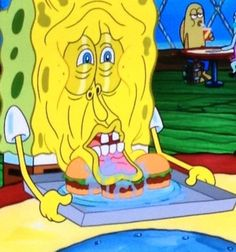 """When this face happened.   36 Times """"Spongebob"""" Made Absolutely No Sense At All why this face"""