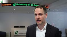 Robert Gutsche, assistant professor of financial and management accounting at the University of St.Gallen, on analysing investment risks and fundamentals. Professor, St Gallen, Investing, University, Management, Social Media, Mathematical Analysis, Finance, Teacher