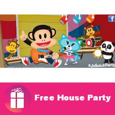 "House Party is looking for 1,000 people to host a Julius Jr. ""Thhis Bos Rocks"" party at their house APPLY NOW http://freebies4mom.com/julius-jr/"