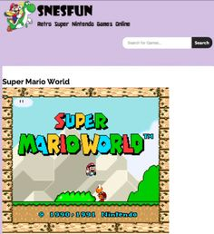 Super Mario World - Never have an inbox full of spam again thanks to the fake email address that only exists for 10 minutes.