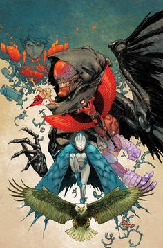 Teen Titans by Kenneth Rocafort
