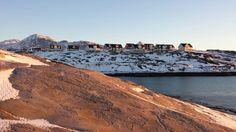 Nuuk og lidt af hjortetakken i baggrunden