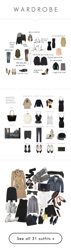 """W A R D R O B E"" by katras ❤ liked on Polyvore featuring Garance Doré, J.Crew, The Row, Eric Bompard, Equipment, Church's, churchs, Christian Louboutin, 7 For All Mankind and Citizens of Humanity"