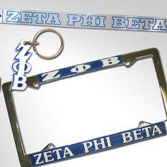 Zeta Phi Beta Car Package