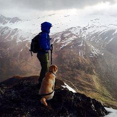 #wandern #Hund #outdoor #Berge #Aussicht