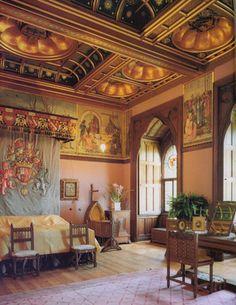 Mount Stewart interior designed by William Burges