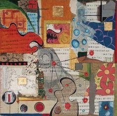 Collage Art , Mixed Media Collages with thanks to artist Rachel Blythe Udell, Artist Study Resources for Art Students , CAPI ::: Create Art Portfolio Ideas at milliande.com , Art School Portfolio Work, Art, Paper, Collage, Glue