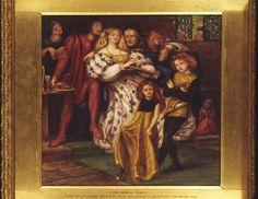 The Borgia Family - Rossetti, Dante Gabriel 1863 Los Borgia, Lucrezia Borgia, The Borgias, Dante Gabriel Rossetti, John Everett Millais, Costume Renaissance, Italian Renaissance, Renaissance Portraits, Renaissance Dresses