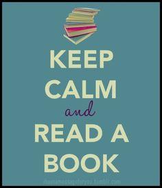 Keep Calm and Read A Book @Alejandra CasadosValadez