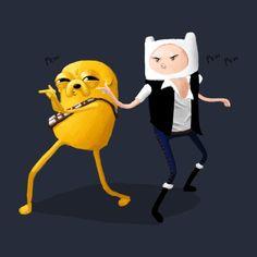 Star Wars Adventure Time