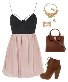 """""""Untitled 569"""" by leo-s-fire ❤ liked on Polyvore featuring Topshop, Oscar de la Renta, River Island and Kendra Scott"""