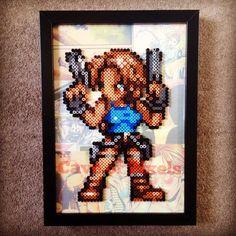 Lara Croft - Tomb Raider perler beads by caveofpixels