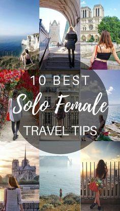 Travel hacks for solo travel. #solotravel #traveltips