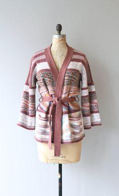 Sedona wrap sweater vintage 1970s sweater space by DearGolden