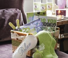 Out of Town Guest Basket - Michaels  Welcome out of town guests with style. Make them feel right at home with a thoughtful DIY hospitality basket filled with fun and relaxing treats and goodies.