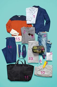 How to Pack for a Weekend Getaway—Surf or Snow: The Daily Details: Blog