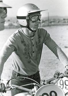 The legendary motorcyclist and Husqvarna rider– Malcolm Smith.