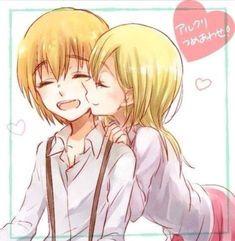 Armin x Historia ( Christa )