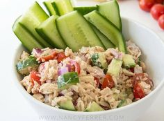 These easy ketogenic dinner recipes are the best and great for weight loss! You are going love these yummy low carb keto dinner recipes, you'll feel so full and satisfied all while losing weight! Easy Tuna Salad, Keto Tuna Salad, Ketogenic Recipes, Diet Recipes, Healthy Recipes, Ketogenic Diet, Recipies, Ketogenic Salads, Diet Ketogenik