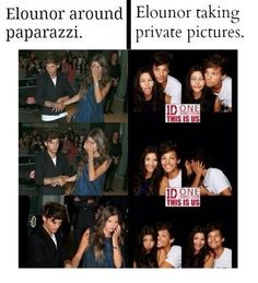 They are literally the sweetest couple...i don't like it when people give her hate...she didn't do anything to them, and if they really loved Louis, they would be happy that he is happy! LOVE YOU BOTH!!!!  XX-G @Eleanor Smith Calder :)