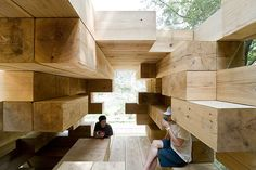 Final Wooden House by Sou Fujimoto #architecture