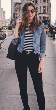 The 50 Best Street Style Outfits This Year - . - The 50 Best Street Style Outfits This Year – - Best Street Style, Street Style Outfits, Looks Street Style, Hipster Outfits, Casual Fall Outfits, Mode Outfits, Simple Outfits, Spring Outfits, Casual Wear