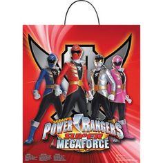 Power Rangers Treat Bag
