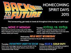 Image School Spirit Posters, School Spirit Days, School Spirit Shirts, Spirit Week Themes, Spirit Day Ideas, Spirit Weeks, High School Homecoming, Homecoming Spirit Week, Leadership Classes