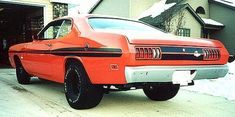 1970 Dodge Demon #dodgevintagecars