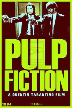 Movie Poster Art: Pulp Fiction